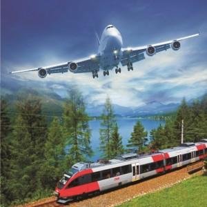 самолет-поезд