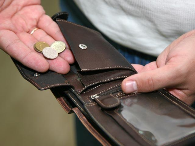 кошелек деньги рубли