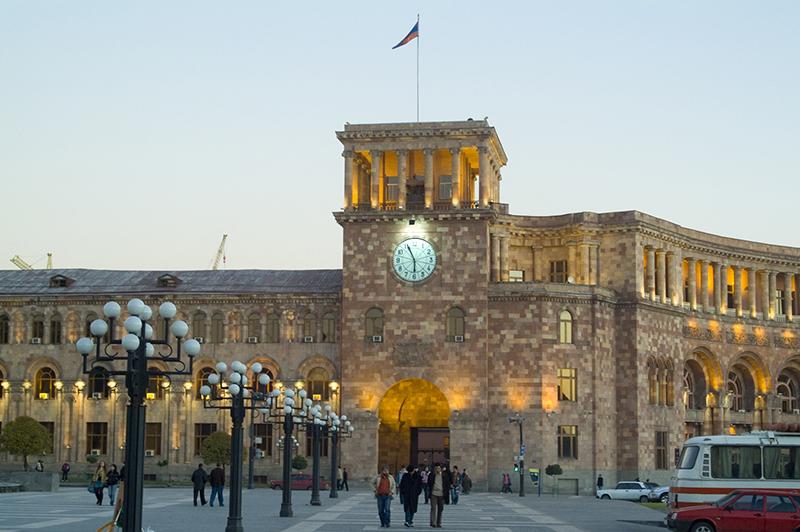 Armenia. Yerevan. The Government Building