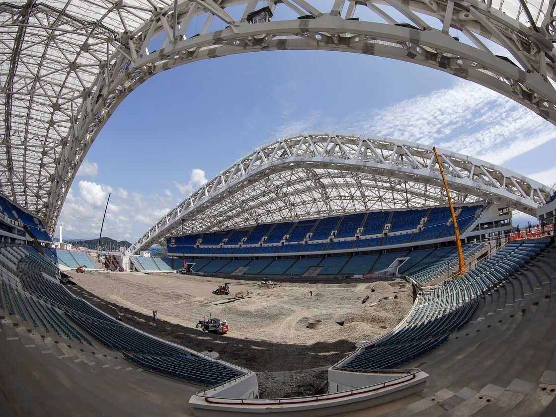изображенная строящиеся стадионы россии фото дымоход