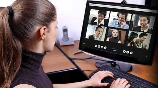 общение с девушкой через скайп