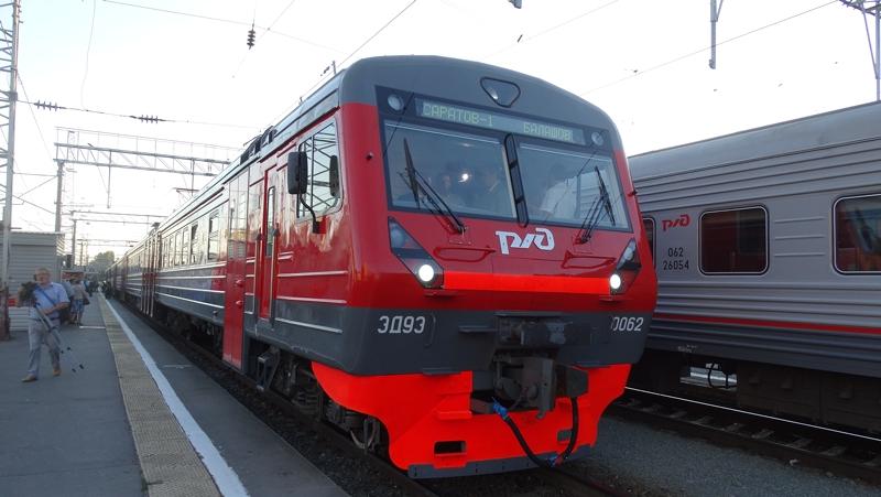 Нажелезнодорожном вокзале запустили две новые доступные для людей сограниченными возможностями электрички