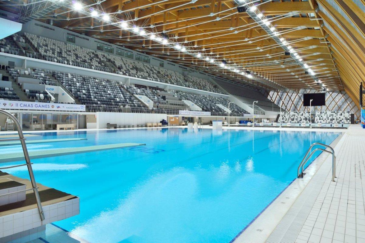 Саратовский Дворец водных видов спорта достроят доэтого срока