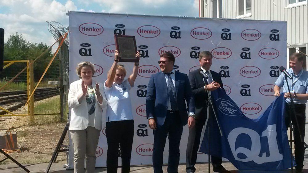 Энгельсскому заводу Henkel присвоен статус приоритетного поставщика компании Ford