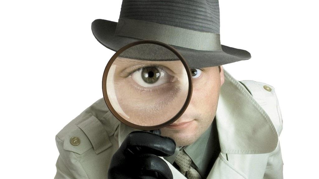 Spion, Spionage, Lupe, Agent 16:9