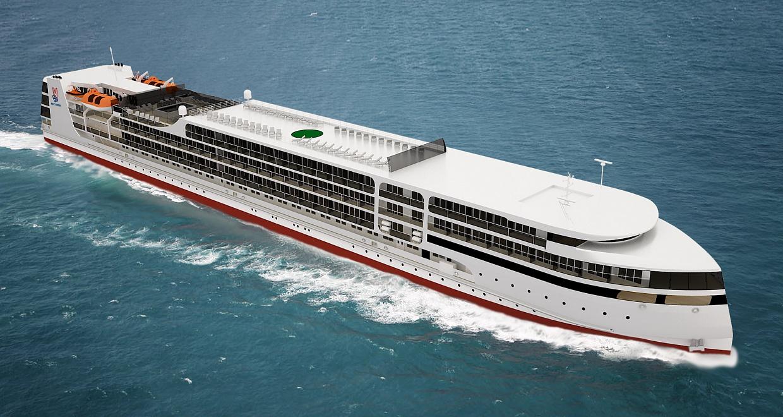 Круизный лайнер «Петр Великий» проложит через Саратов «Великий Шелковый путь»