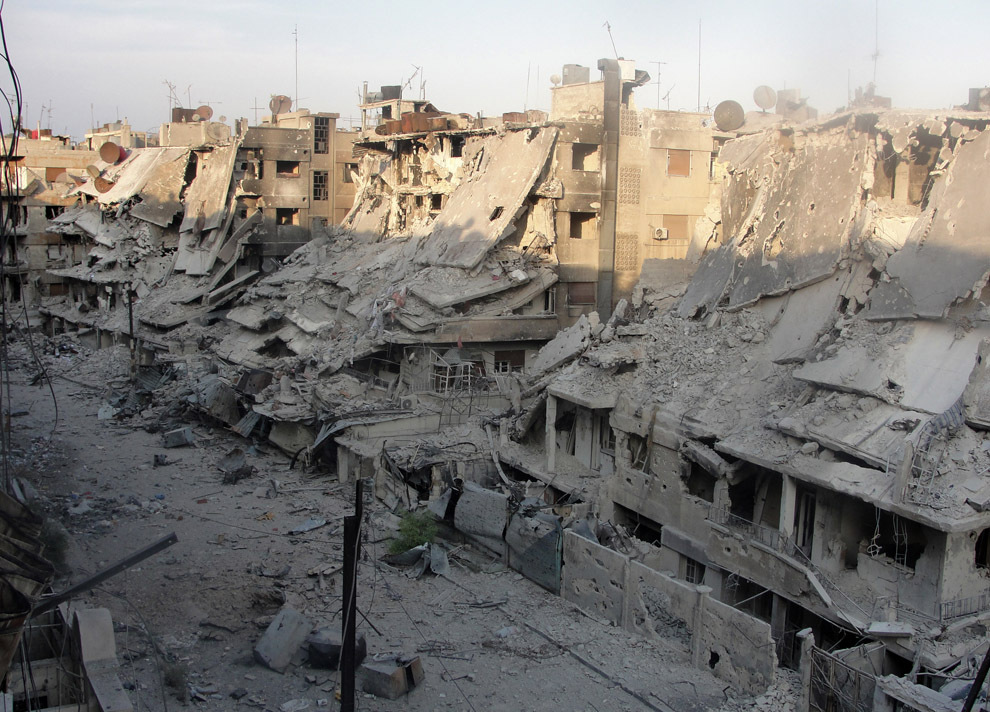 сирия руин