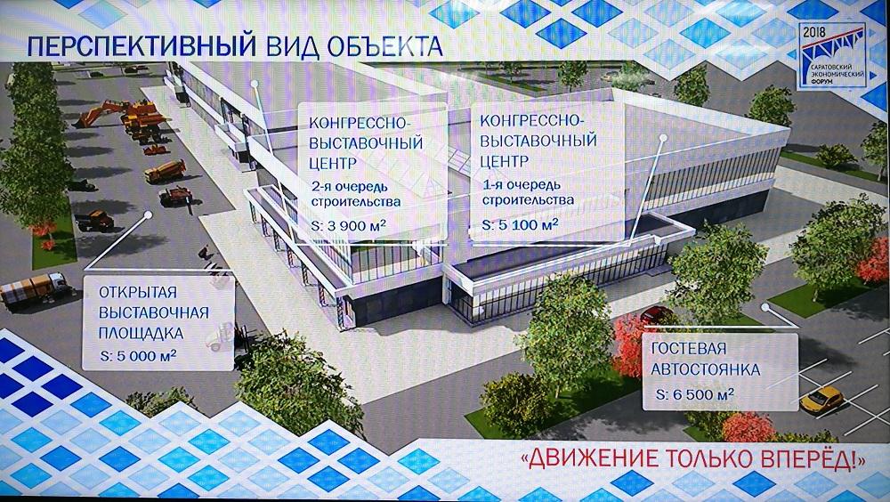 Инвестпроекты: для конгрессно-выставочного центра в Саратове посчитают расходы и доходы