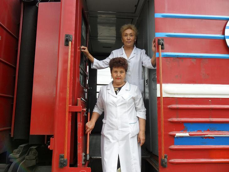 Саратовский поезд Анисовка-Татищево превратится в передвижную поликлинику с музыкой