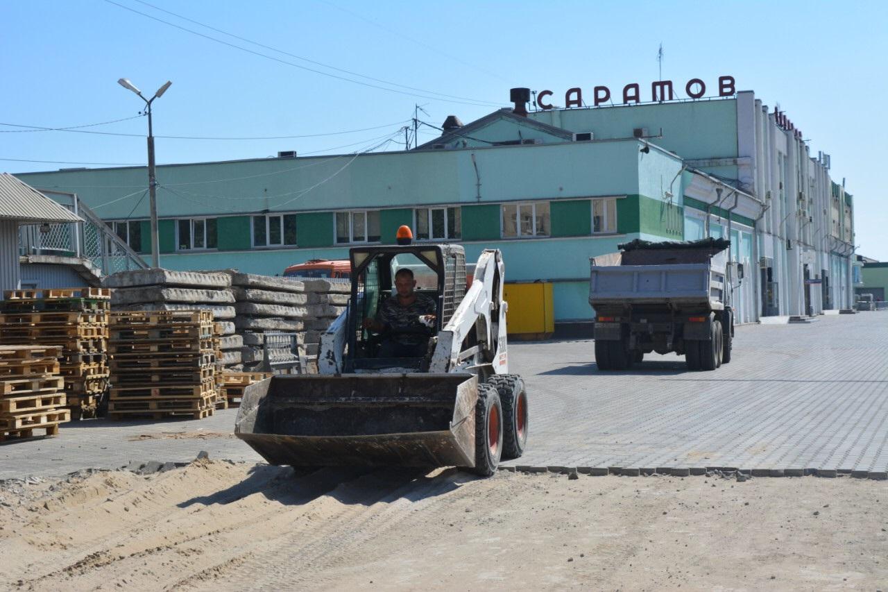Начало реконструкции саратовского вокзала
