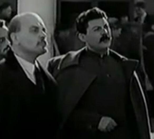 Константин Мюфке в роли Ленина в кино