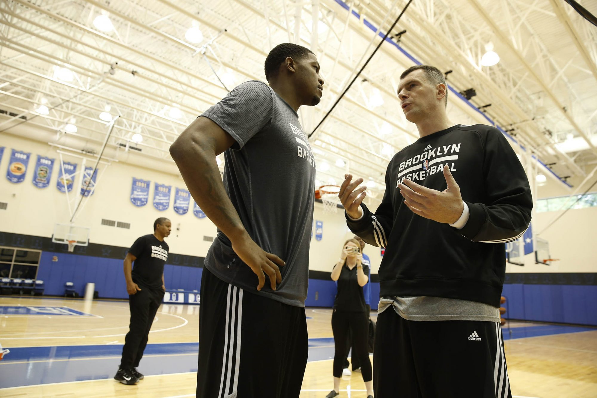 Brooklyn Nets Training Camp with Mikhail Prokhorov