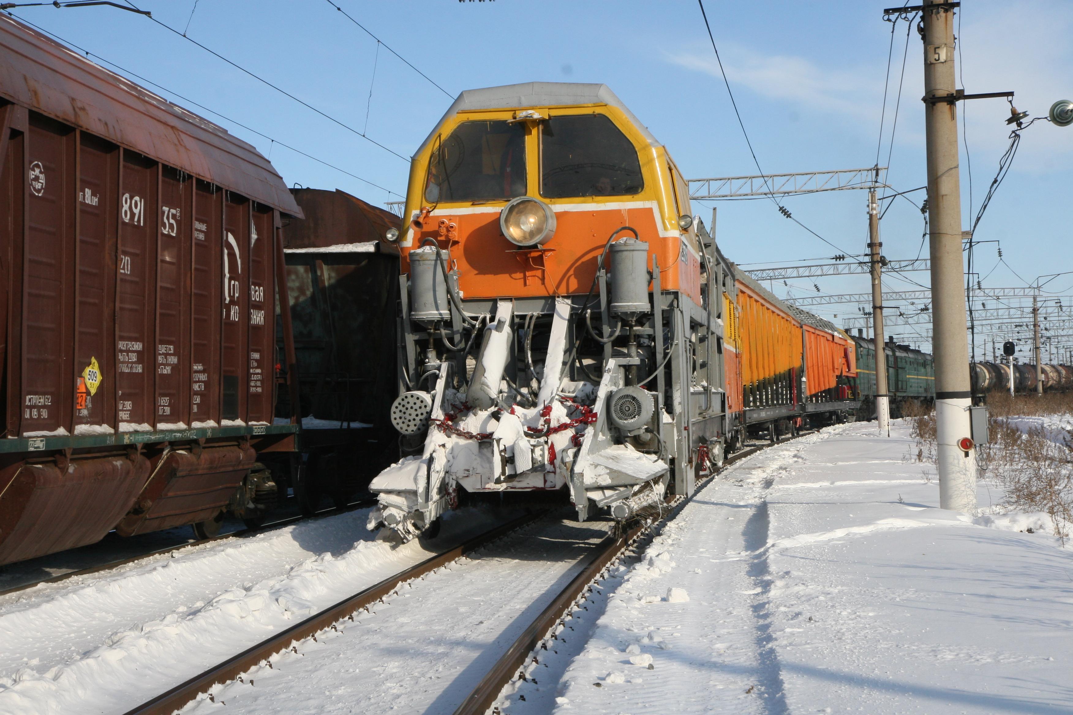 2020 03 24 ПривЖД_Саратов_снегонад не повлиял на движение пассажирских поездов