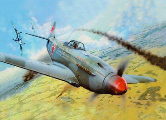 Подлинный Як-3, сделанный на деньги Головатого, навсегда застрял в частном музее, в Саратове установили его фанерную копию
